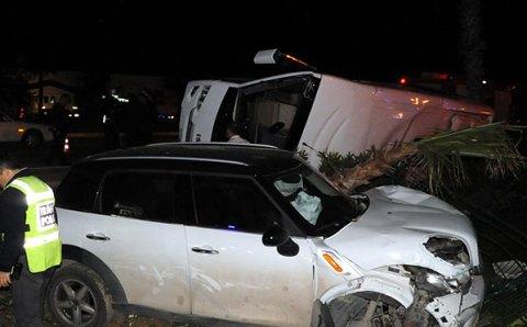 ДТП в Анталии: 19 раненых