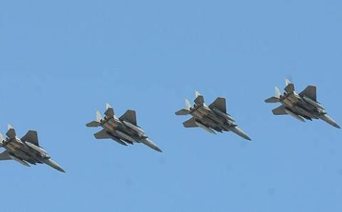 Самолеты ВВС Саудовской Аравии прибыли в Турцию