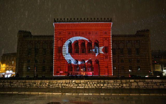 Премьер Турции поблагодарил Боснию за жест