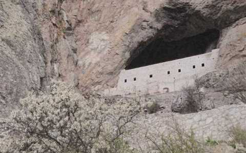 Высеченная в скале церковь Девы Марии открывает двери