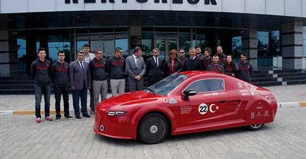 Первый турецкий электромобиль вернулся домой