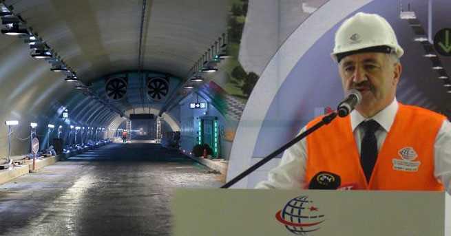 Министр: Проезд по туннелю «Евразия» будет стоить 17 лир