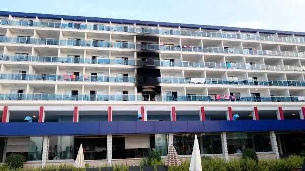 Пожар в 5-звездочном отеле унес одну жизнь