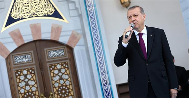 Президент открыл мечеть в аэропорту Анкары