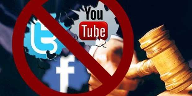 Власти запретили доступ к Facebook, WhatsApp, YouTube и Twitter
