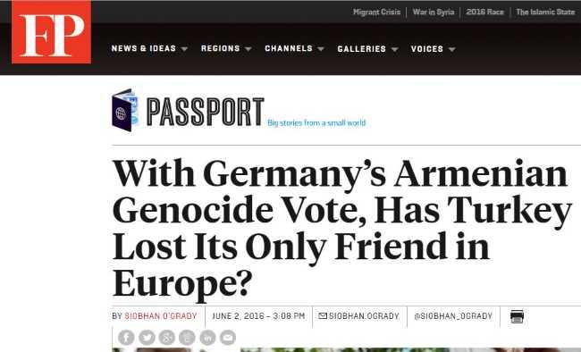 Германия признала геноцид: Турция лишается единственного друга в Европе?