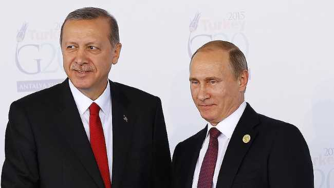 Эрдоган и Путин встретятся в сентябре