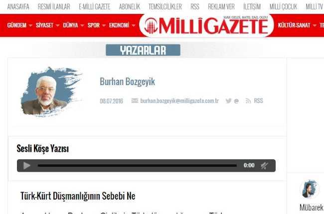 В чем причина враждебности к туркам и курдам