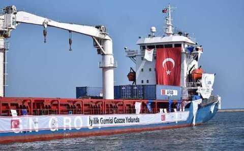 Турция отправит еще один корабль с помощью в Газу