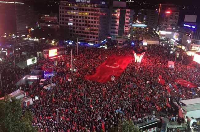Анкара запретила проведение собраний, митингов и маршей