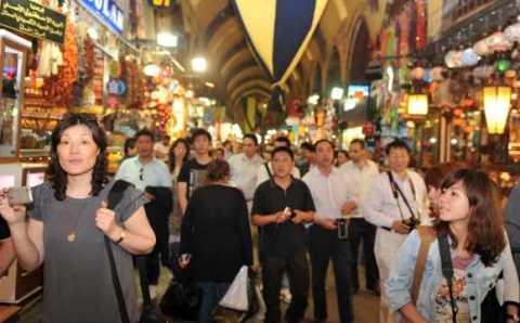 Китайским туристам не рекомендуют посещать юг Турции
