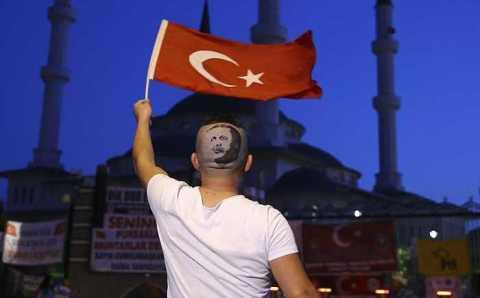 Парикмахер-рекордсмен выстриг портрет Эрдогана
