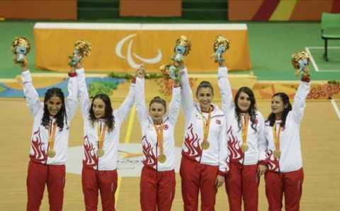Сборная Турции по голболу завоевала золото Паралимпиады