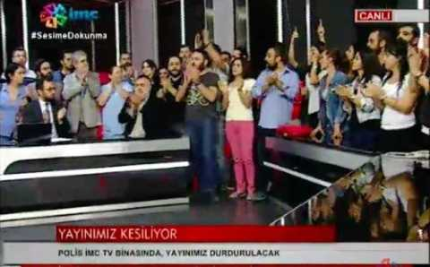 Власти закрыли оппозиционный телеканал IMC TV