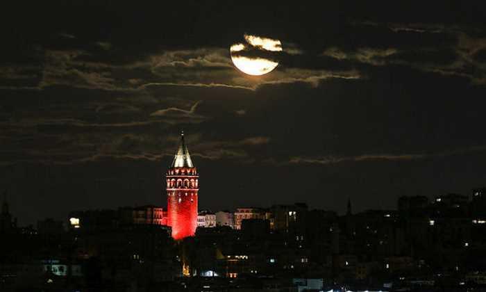 Турция сегодня наблюдает за Суперлунием