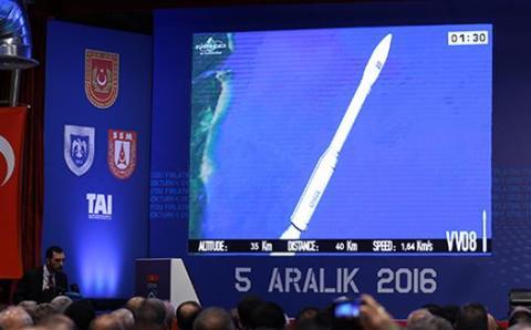Первый разведывательный спутник запущен в космос