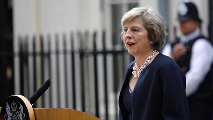 Премьер Великобритании прибыла на встречу в Анкару
