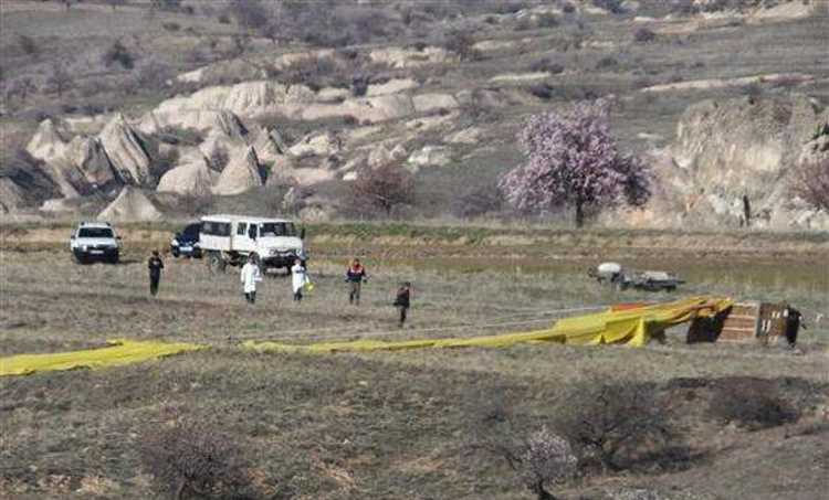 Крушение воздушного шара: 1 погиб, 20 пострадали