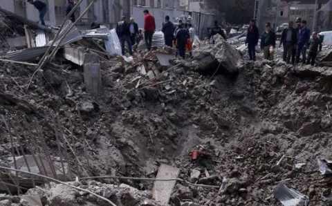 Мощный взрыв в Диярбакыре: 1 погибший, 4 раненых