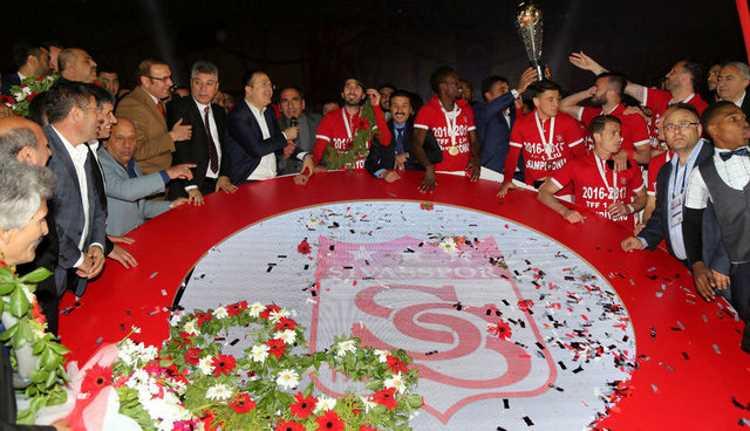 Сивасспор — чемпион Первой футбольной лиги Турции