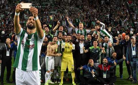 Коньяспор — первый финалист Кубка Турции