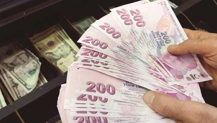 Лира идет вверх: $ — 7,25, € — 8,90