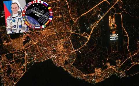 Анталия с борта МКС глазами российского космонавта