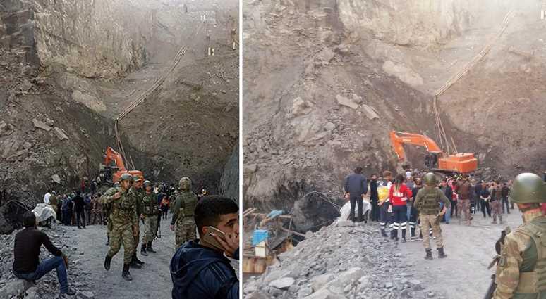 6 человек погибли при обвале руды в угольном карьере