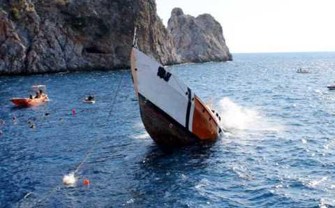 Катер береговой охраны привлечет дайверов в Алании