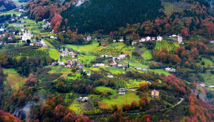 Осенний Трабзон — настоящее украшение Турции