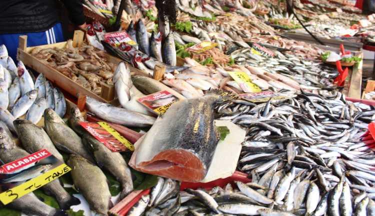 Турецкие рынки наполняются свежей рыбой