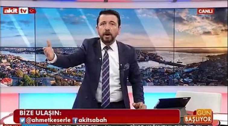 Ведущий Akit TV уволен после предложения бомбить Стамбул