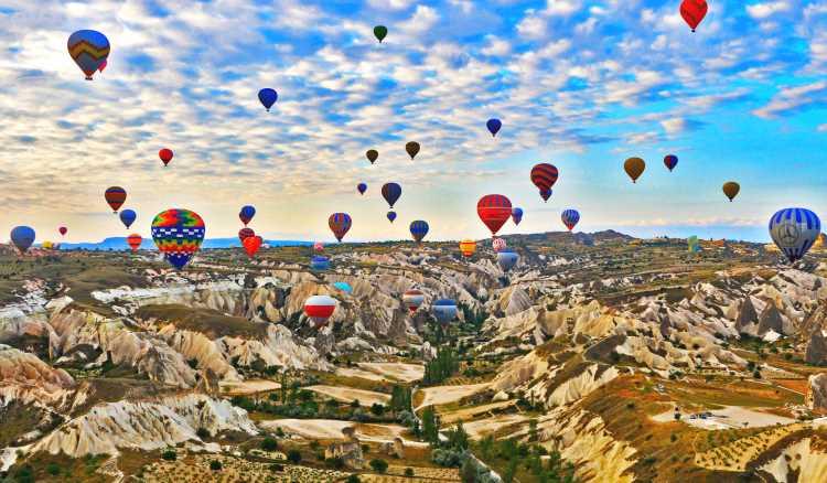 Воздушные шары — неотъемлемая часть Каппадокии
