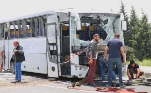 15 туристов из России и Украины пострадали в ДТП