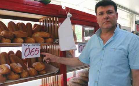 Суд Антальи потребовал от продавца поднять цены на хлеб