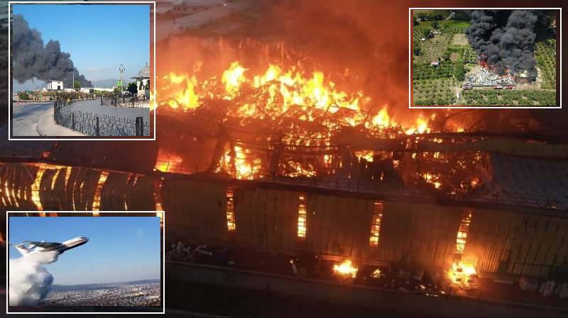 Серия крупных пожаров: Стамбул, Бурса, Адана, Анталия