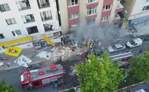 Утро в Стамбуле началось с сильного взрыва