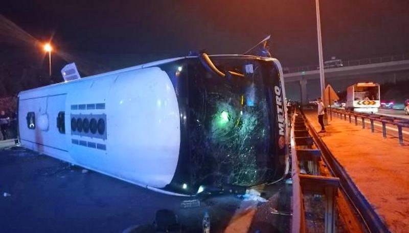 ДТП с участием автобуса: 1 погибший, 17 пострадавших