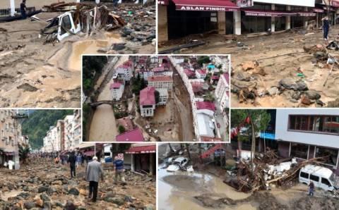 Город Дерели пережил страшную катастрофу