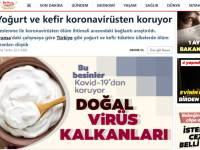 Йогурт и кефир защищают от коронавируса