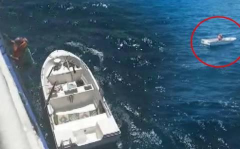 Спасение спустя 3 дня в открытом море