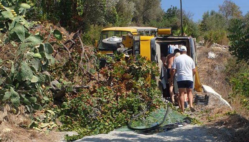 В аварии с автобусом в Анталии пострадали 11 россиян