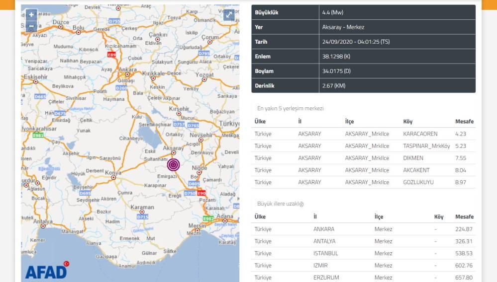 Центральную Турцию снова потрясли два землетрясения
