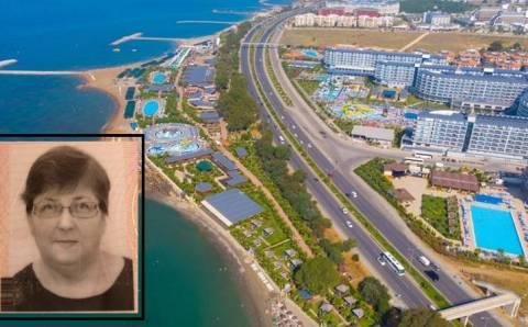 Российская туристка погибла на отдыхе в Анталье