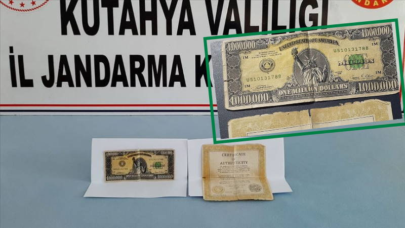 Жандармерия нашла в кармане миллион долларов