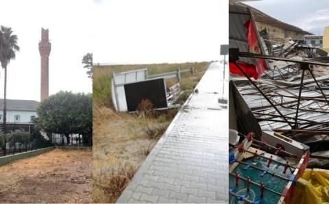 Ураган стал причиной гибели девушки в Анталии