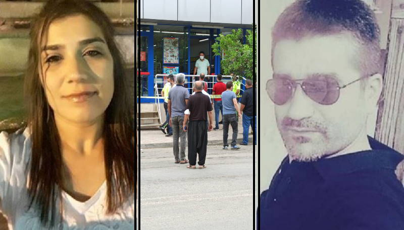 Убийство и самоубийство на кассе супермаркета