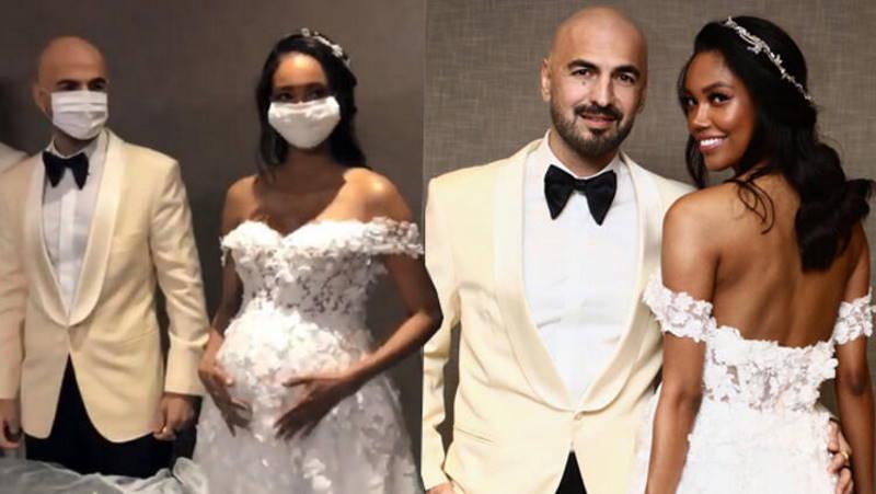 Свадьба на 8,5 месяце беременности