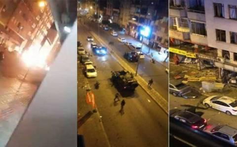 Взрыв в Искендеруне при ликвидации членов РПК
