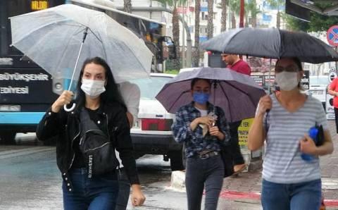 Погода в Турции: неделя дождей, гроз и града
